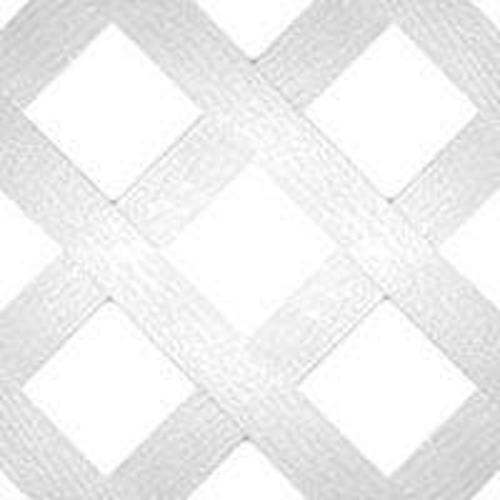 Universal Forest 79897 Traditionl Lattice, White, 4' x 8'