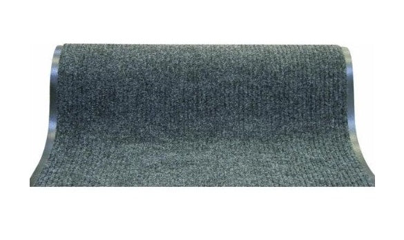 "WJ Dennis EDG5036 Runner Floor Mats, 60' x 36"", Dark Gray"