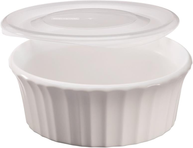 Corningware 1114931 Baking Dish, French White, 16 Oz