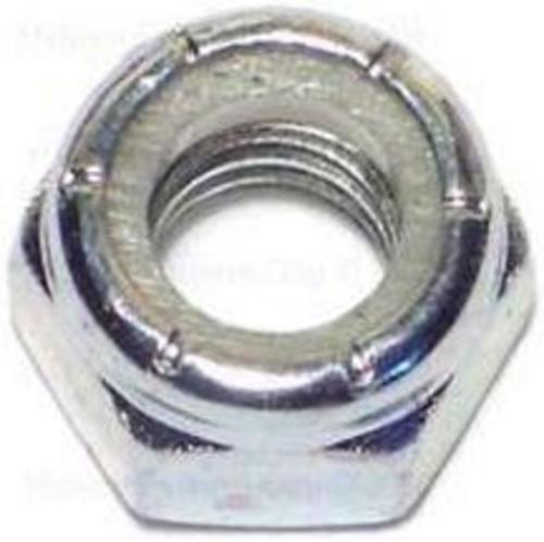 Midwest 03650 Hex Locknut, Zinc Plated, Nylon, 5/16-18""