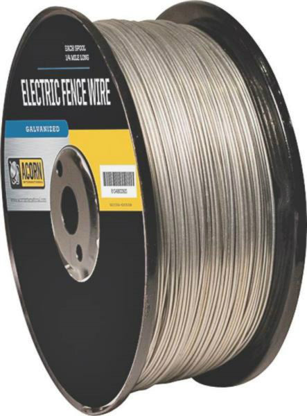 Acorn EFW1412 Galvanized Electric Fence Wire, 14 Gauge