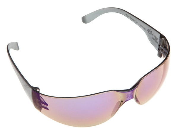 Forney 55338 Safety Glasses, Starlite, Blue Mirror