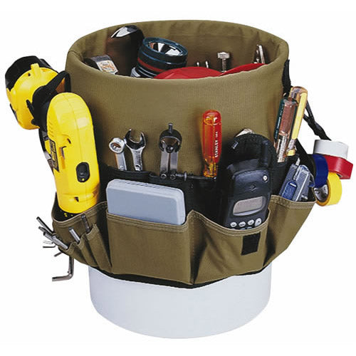 CLC 1119 ToolWorks Bucket Organizer, 48 Pockets