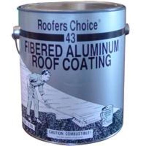 Henry RC043042 Roofers Choice Fibered Aluminum Roof Coating, 1 Gal.