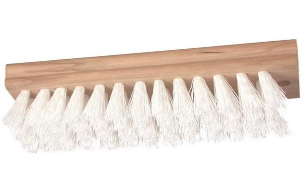 "Birdwell Cleaning 460-48 Poly Square End Scrub Brush, 7-3/8"" x 2-3/8"""
