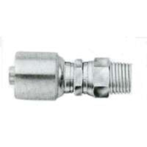 Gates G25-Series 6G-8MPX Male Hydraulic Hose Coupling, 3/8""