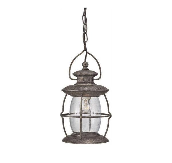 Boston Harbor BRT-CDC1701 Outdoor Pendant Light Fixtures, Misty Pewter