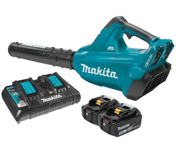 Makita XBU02PT Lithium‑Ion 18V LXT Brushless Cordless Blower Kit, 5 Ah