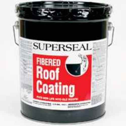 Henry SS003070 Superseal Asphalt Fibered Roof Coating, 5 Gallon