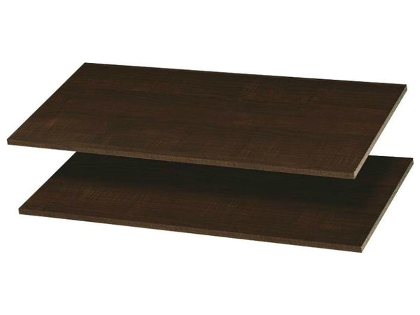 "Easy Track RS1436-T Shelves, Truffle, 35"" x 14"" Deep, Set Of 2"