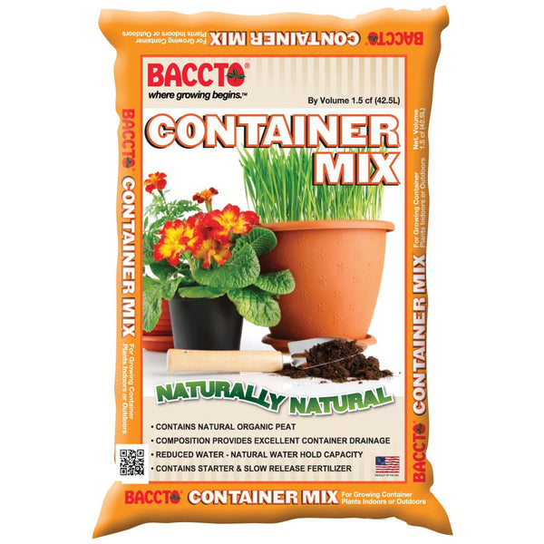 Baccto 1815 Container Mix, 1.5 Cu. Ft.