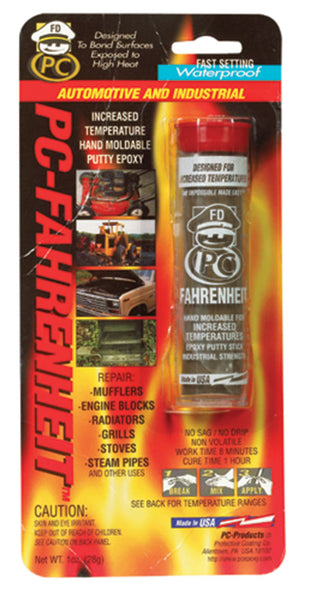 PC-Products 025543 PC-Fahrenheit Moldable Epoxy Putty, 1 Oz.