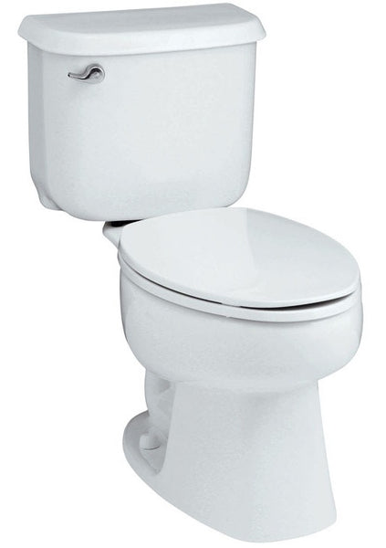 Sterling 404705-0 Windham Elongated Complete Toilet, White