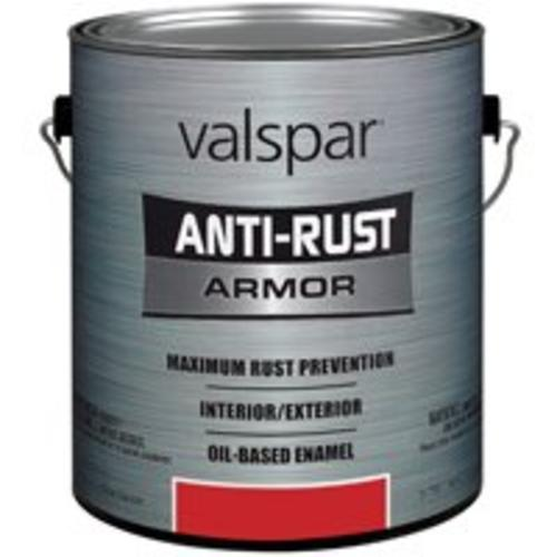 Valspar 21827/21927 Anti-Rust Armor Oil-Based Enamel Gallon Safety Red