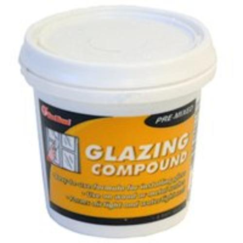 Red Devil 0662 Pre-Mixed Glazing Compound, 1/2 Pt, White