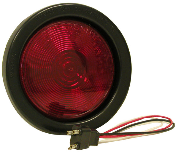 "Peterson V426KR Round Stop/Turn/Tail Light, 4"", Red"
