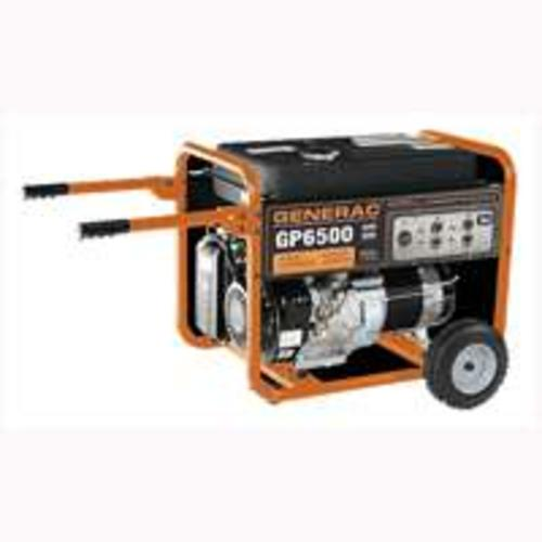 Generac GP6500 Power Generators 6500 Watt
