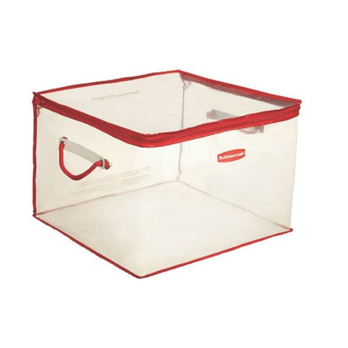 Rubbermaid 1802621 Medium Storage Flexible Tote, 15 Gallon