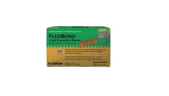 Custom Building Products FB60 Gray Flexbond Thinset 50Lb