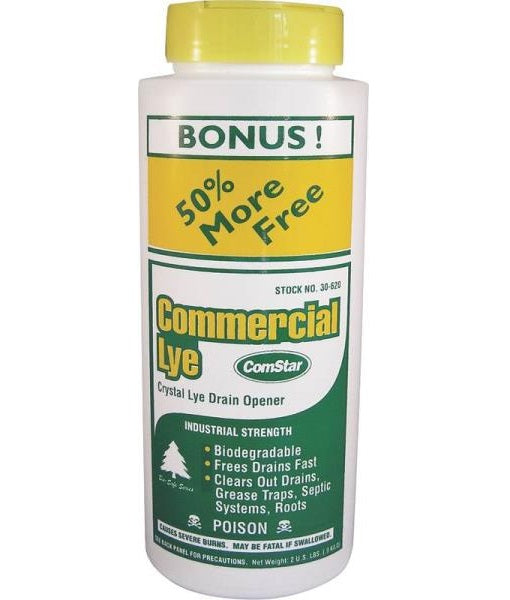 Comstar 30-620 Commercial Lye Drain Opener, 2 lbs