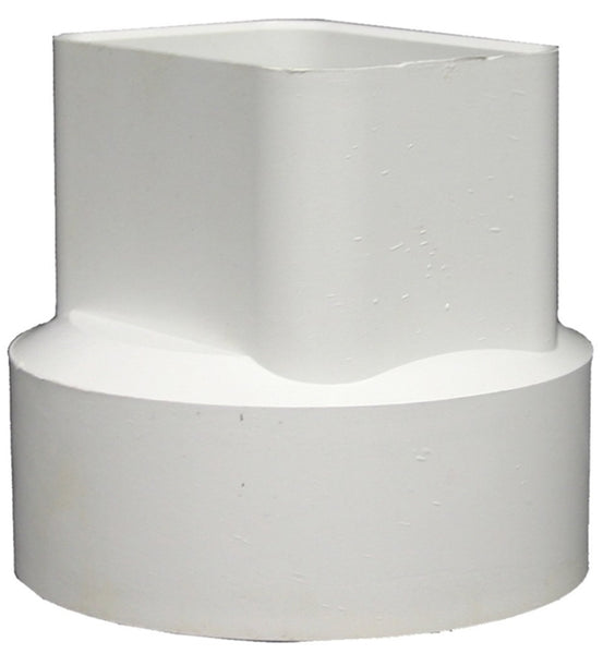 "Hancor 0482TW Triple Wall Hdpe Sewer And Drain Fitting, 4"", # 456"