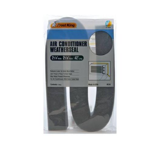 "Frost King AC43H Air Conditioner Weatherseal, 2-1/4"" x 2-1/4"" x 42"""