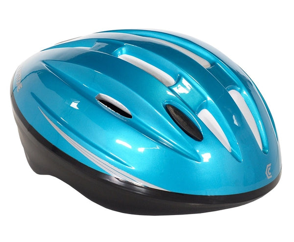 Capstone 64402 Youth Bike Helmet, Teal
