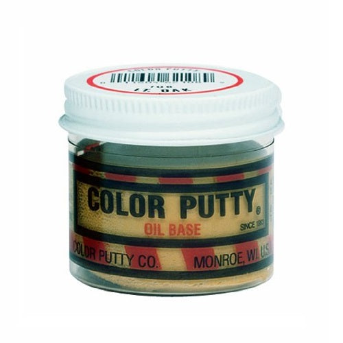 Color Putty 116 Oil-Based Wood Filler, Butternut, 3.68 Oz.