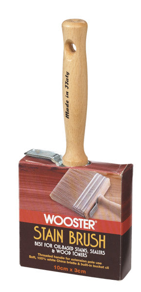 Wooster F5116-4 Bravo Stainer Stain Brush, 4""