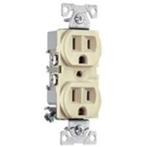 Cooper Wiring BR15A Commercial Duplex Receptacles, 15 Amp
