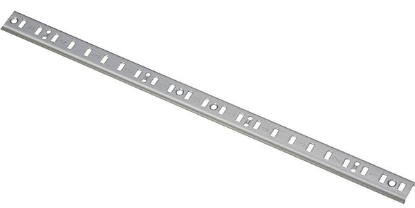 National Hardware N229-492 157 Shelf Standards, 4', Silver