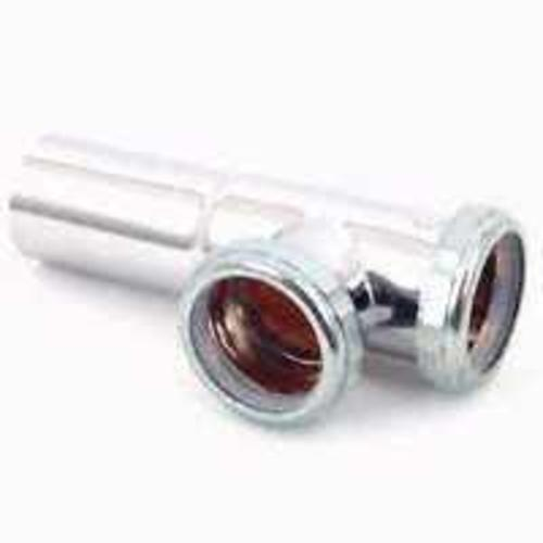 Plumb Pak PP1700SN Chrome End Outlet Tee, 1-1/2""