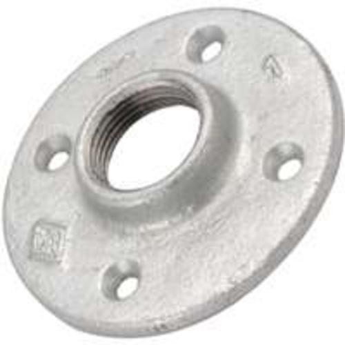 Worldwide Sourcing 27-1/2G Galvanized Floor Flange, 1/2""