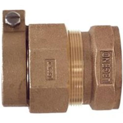 "Legend Valve 313-280NL Water Service Fitting 1"" Pak x 3/4"" Fpt Adapter"
