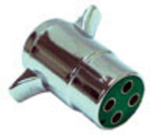 US Hardware RV-496C 4-Way Trailer End Connector