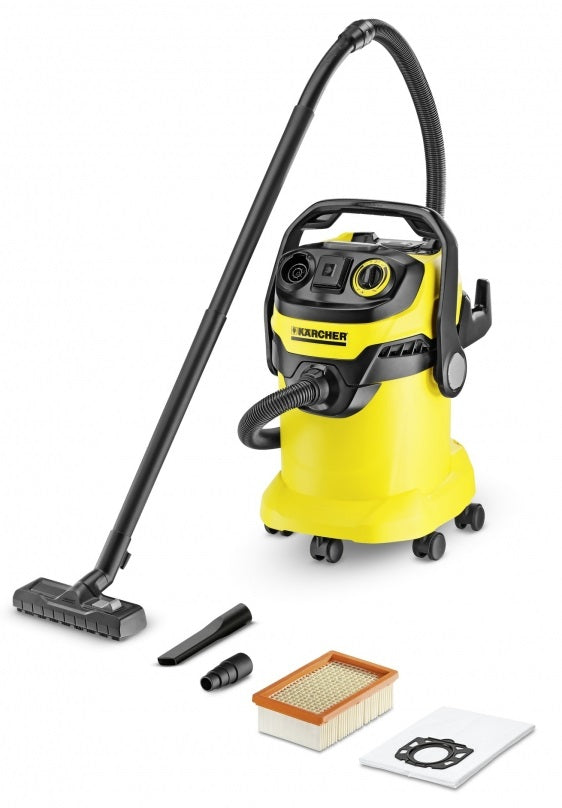 Karcher 1.348-197.0 Multi-Purpose Vacuum Cleaner Wd 5 P, 6 Gallon, 1800 Watt