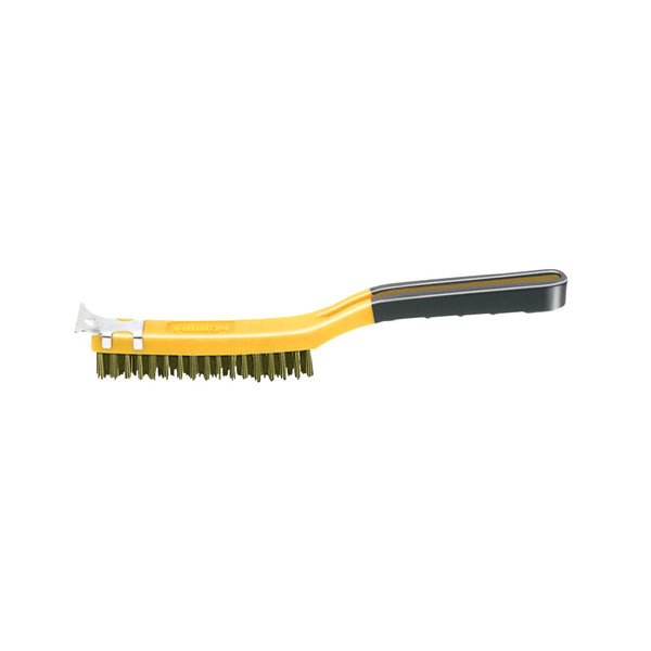 Allway Tools SB319/BB Wire Brush With Scraper, 14 Inch