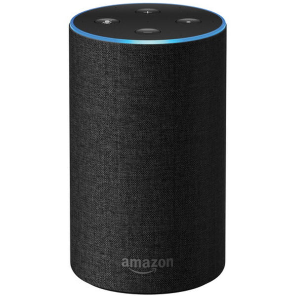 Amazon B06XCM9LJ4 Echo Voice Controlled Hands Free Speaker, Charcoal