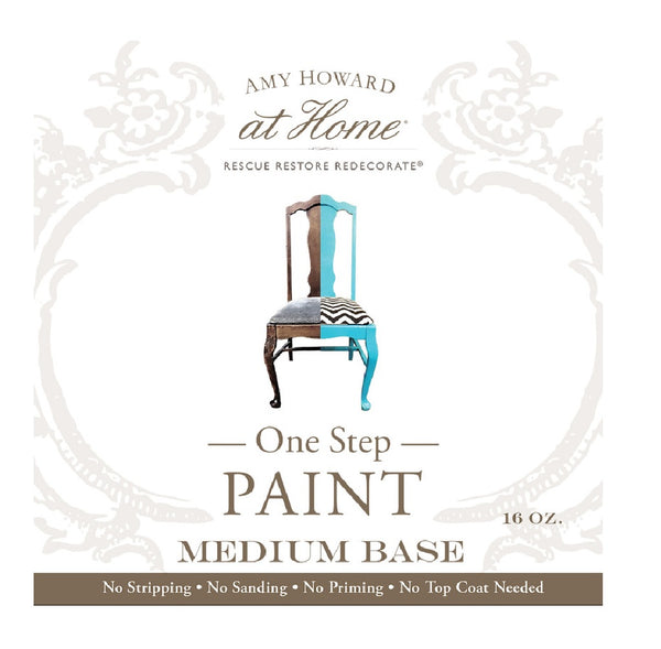 Amy Howard At Home AH945BASE02 Rescue Restore Redecorate Medium Base Paint, 16 Oz