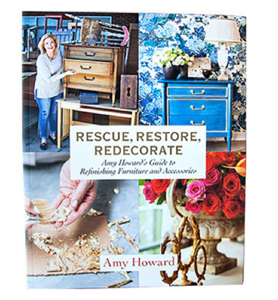 Amy Howard At Home AMS194 Rescue,Restore, Redecorate Book