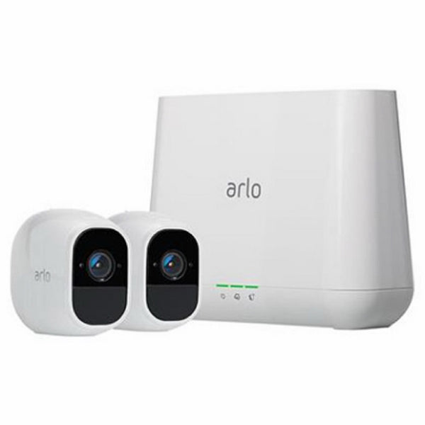 Arlo VMS4230P-100NAS Pro 2 Wireless Home Security Camera System with Siren