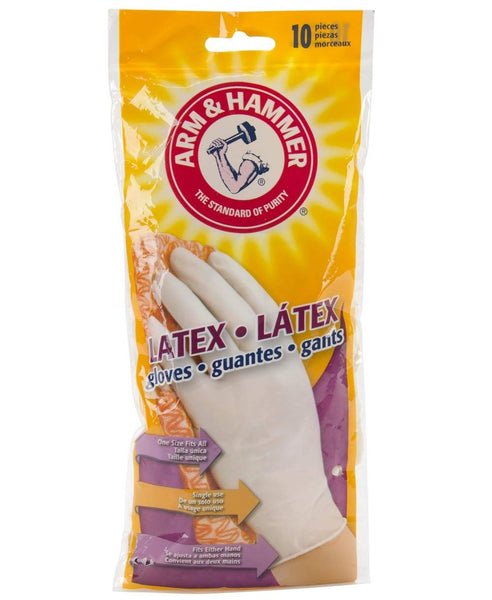 Arm & Hammer 1252N Universal Disposable Latex Gloves