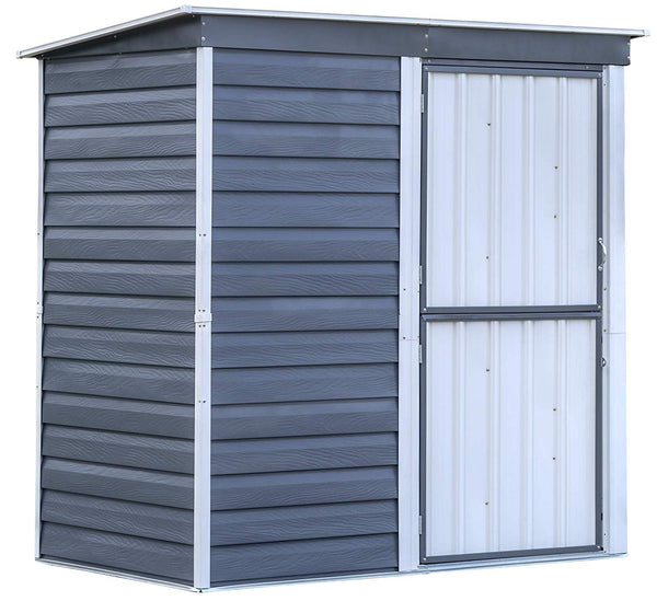 Arrow SBS64 Shed In A Box Steel Storage Shed, 6 Feet x 4 Feet