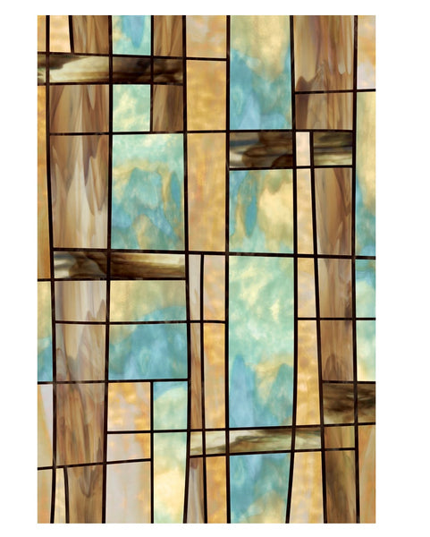 Artscape 01-0133 City Lights Decorative Window Film