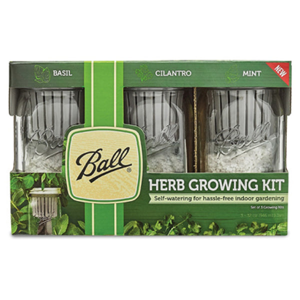 Ball 1440016022 Herb Grow Kit, 3 Pack