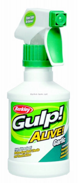 Berkley 4475-1491 Garlic Gulp Alive Attractant Spray, 8 Oz