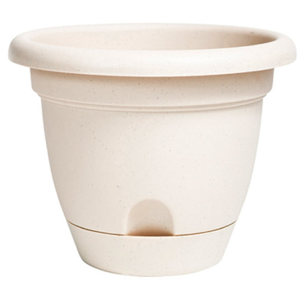 Bloem LP1683 Lucca Planter, Pebble Stone, 16 Inch
