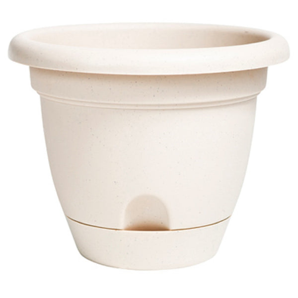 Bloem LP1283 Lucca Planter, Pebble Stone, 12 Inch