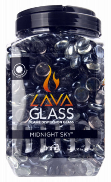 Bond 50710 Round Lava Glass Midnight Sky, 10 LB