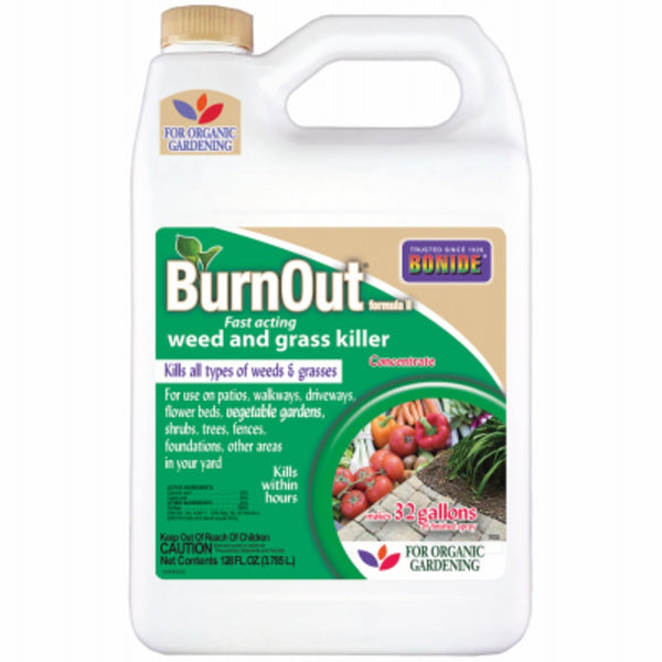 Bonide 7469 BurnOut II Weed & Grass Killer, Gallon